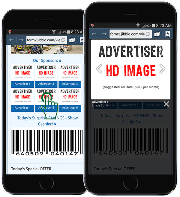 Offer advertising opportunities on your AskMIA page to generate immediate ROI
