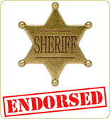 View US State Sheriffs' official endorsements of Jibbio fundraising programs, CLEAR2 and C2 applications