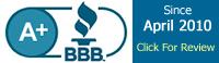 Jibbio A plus rating BBB since April 2010