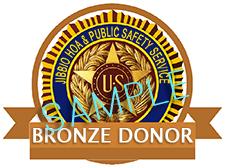 BRONZE donor badge