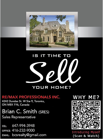 Realtor self-introduction for direct mail and postcards to generate new leads