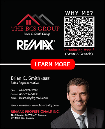 Realtor interactive business card example