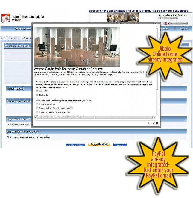 online appointment scheduler