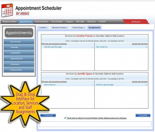 online scheduling software
