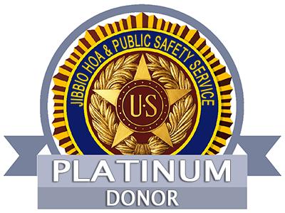 PLATINUM donor badge