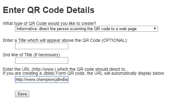 QR code remains permanent - Edit forwarding URL in seconds