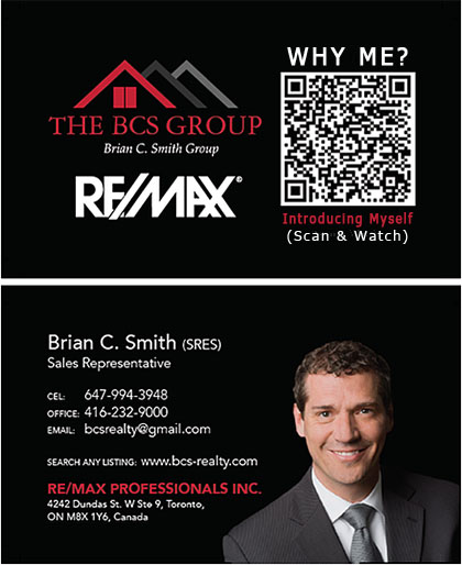 Realtor introduction and networking qr code to Jibbio interactive web & mobile minisite form