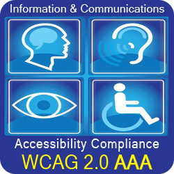Automate accessible customer service etraining, information & communications AODA & ADA compliance requirements